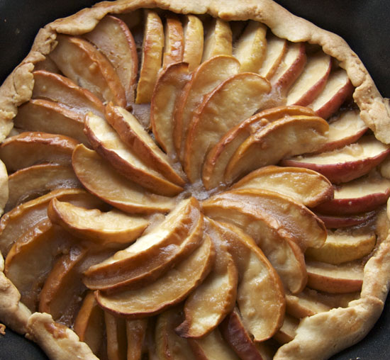 Apple Toffee Galette Recipe — Dishmaps
